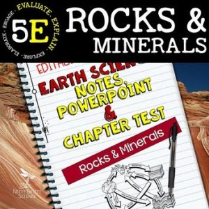 original 2165218 1 300x300 - Rocks & Minerals: Earth Science Notes, PowerPoint & Chapter Test ~ EDITABLE!