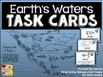 original 2203315 1 - Earth's Waters: Earth Science Task Cards