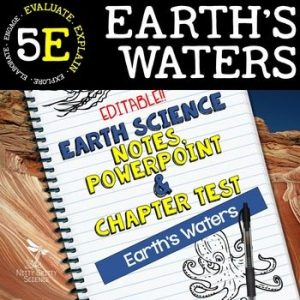 original 2222397 1 300x300 - Earth's Waters: Earth Science Notes, PowerPoint & Test ~ EDITABLE!