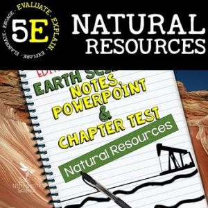 original 2273845 1 300x300 - Natural Resources: Earth Science PowerPoint, Notes & Test ~ EDITABLE!