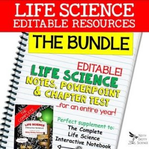 original 2302221 1 300x300 - Life Science Curriculum - Notes, PowerPoint, and Chapter Tests ~ EDITABLE Bundle
