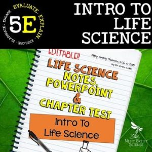 original 2302282 1 300x300 - Intro to Life Science: Life Science PowerPoint, Notes and Test ~ EDITABLE!