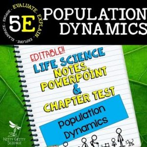 original 2347968 1 300x300 - Population Dynamics: Life Science Notes, PowerPoint and Test ~ EDITABLE!