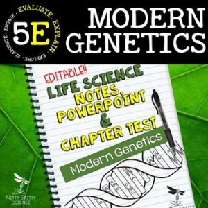 original 2354801 1 300x300 - Modern Genetics: Life Science Notes, PowerPoint and Test ~ EDITABLE