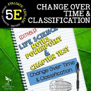 original 2369898 1 300x300 - Change Over Time & Classification: Life Science Notes, PowerPoint & Test~EDITABLE
