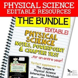 original 2381059 1 300x300 - Physical Science Curriculum - Notes, PowerPoint & Chapter Tests ~EDITABLE Bundle