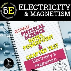 original 2411412 1 300x300 - Electricity and Magnetism: Physical Science Notes, PowerPoint & Test ~ EDITABLE