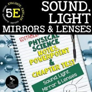 original 2414382 1 300x300 - Sound, Light, Mirrors & Lenses: PS Notes, PowerPoint & Test ~ EDITABLE