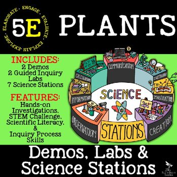 original 2562709 1 - Plants: Demos, Labs and Science Stations ~ 5E Inquiry
