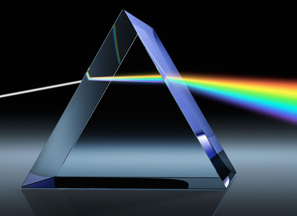 prism 1024x745 - Section 3: Reflection and Refraction of Light