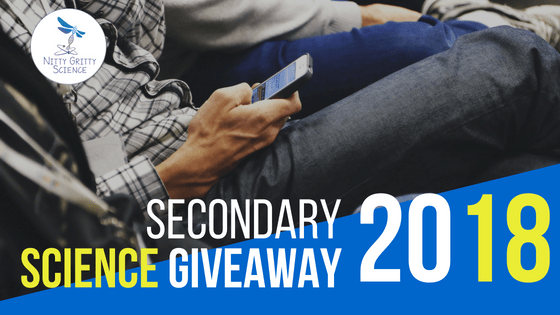 It's Back…The Annual Secondary Science Giveaway