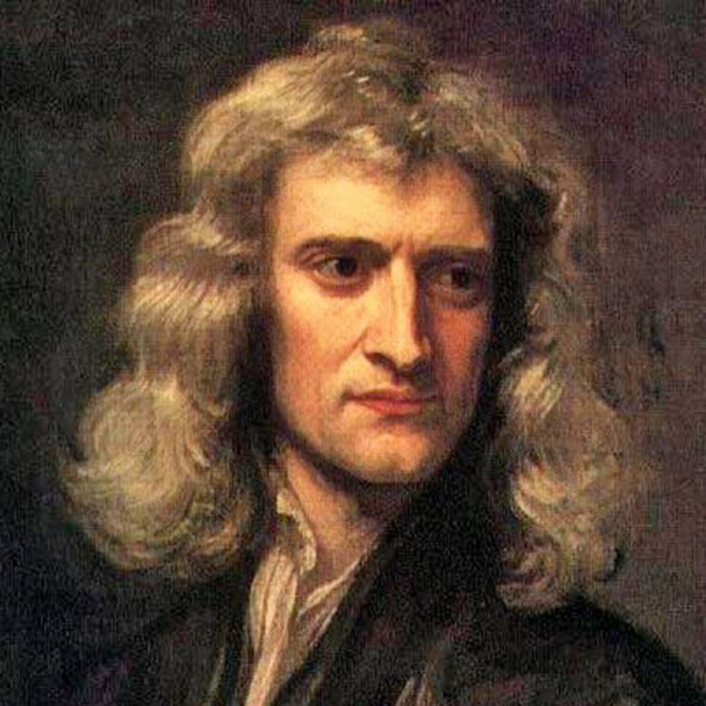 sir isacc newton 1024x1024 - Section 4: Newton's Laws of Motion