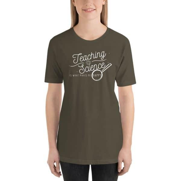 unisex staple t shirt army front 610d64b8d3d90 600x600 - Teaching Science Makes Me Happy