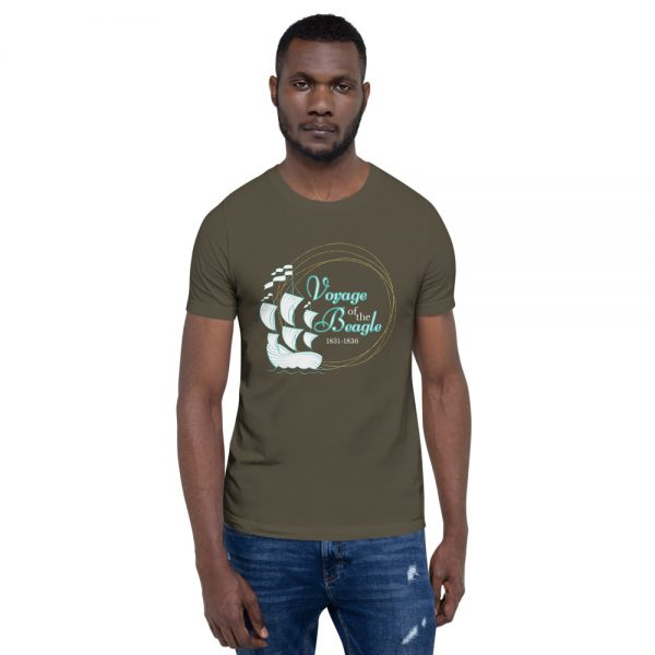 unisex staple t shirt army front 610d88428287e 600x600 - Voyage of the Beagle