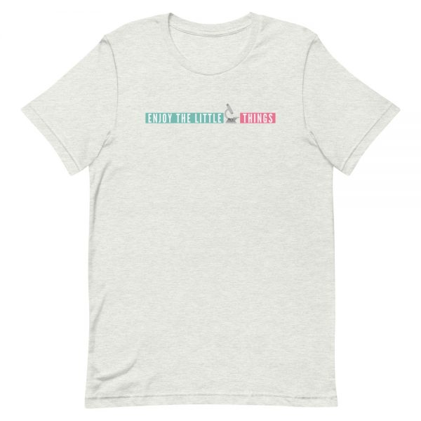 unisex staple t shirt ash front 610d674aa1364 600x600 - Enjoy the Little Things