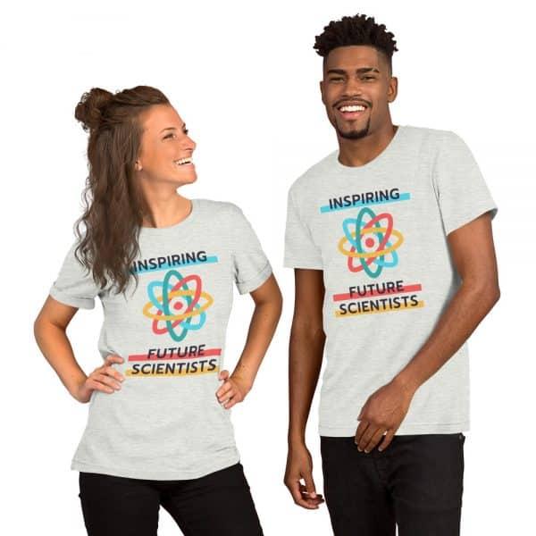 unisex staple t shirt ash front 610d6960a479e 600x600 - Inspiring Future Scientists