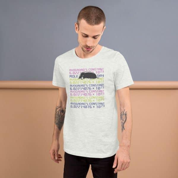 unisex staple t shirt ash front 610d6cc45f272 600x600 - Mole Day