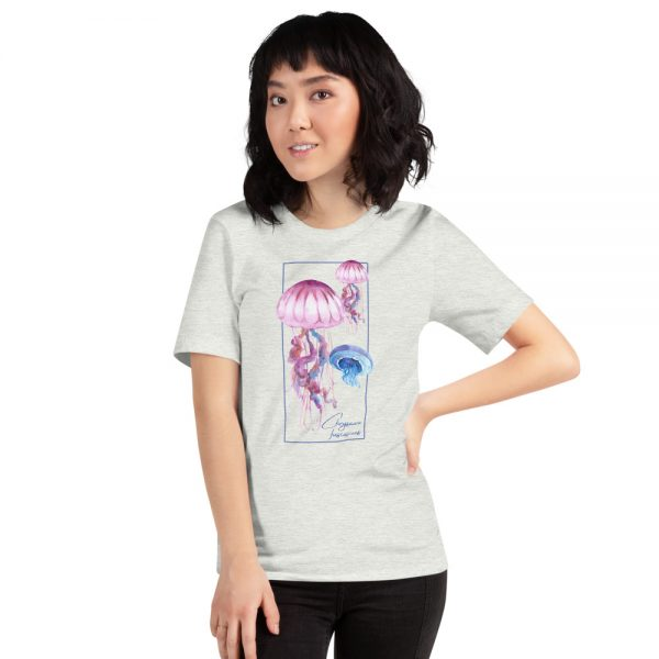 unisex staple t shirt ash front 610d7a6cdad4a 600x600 - Jellyfish