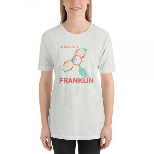 unisex staple t shirt ash front 610d8391452d0 600x600 - Rosalind Franklin
