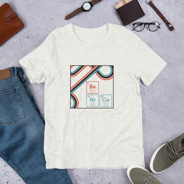 unisex staple t shirt ash front 610d9442ecbde 600x600 - Be NiCe