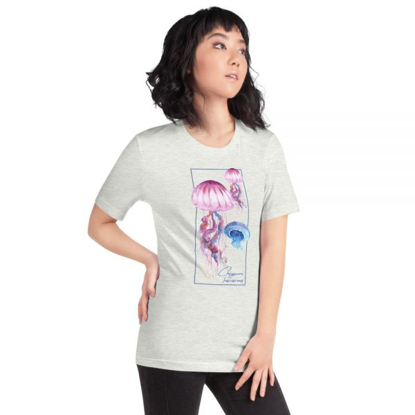 unisex staple t shirt ash right front 610d7a6ce0763 600x600 - Jellyfish