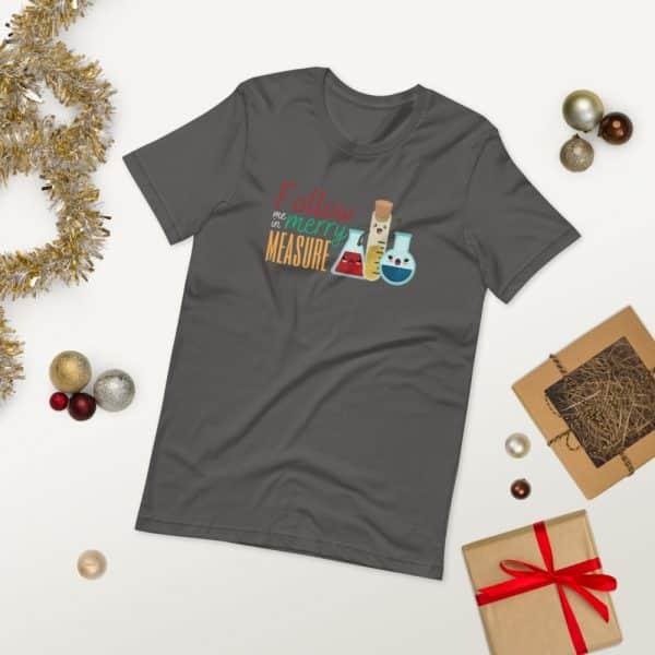 unisex staple t shirt asphalt front 2 610d75e3995cf 600x600 - Follow Me in Merry Measure