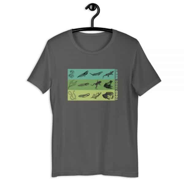 unisex staple t shirt asphalt front 610d6e648ad69 600x600 - Amphibian Life Cycle