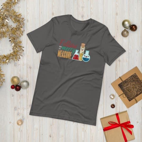 unisex staple t shirt asphalt front 610d75e3916e6 600x600 - Follow Me in Merry Measure