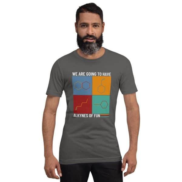 unisex staple t shirt asphalt front 610d78c42be2c 600x600 - Alkynes of Fun