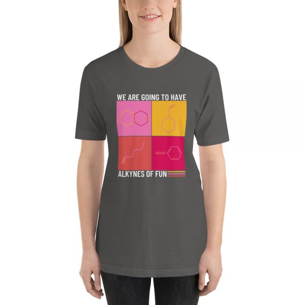 unisex staple t shirt asphalt front 610d790ca6d8c 600x600 - Alkynes of Fun