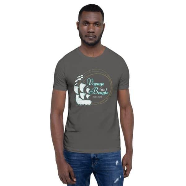 unisex staple t shirt asphalt front 610d884285233 600x600 - Voyage of the Beagle