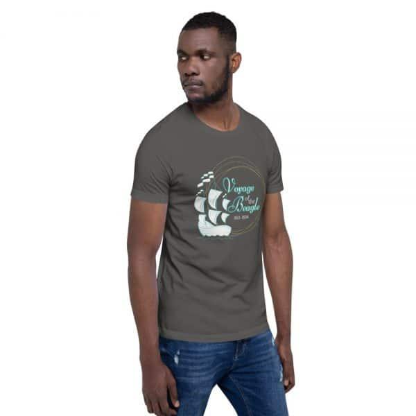 unisex staple t shirt asphalt right front 610d8842870dc 600x600 - Voyage of the Beagle