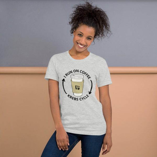 unisex staple t shirt athletic heather front 610d66d6556a1 600x600 - I Run on the Krebs Cycle