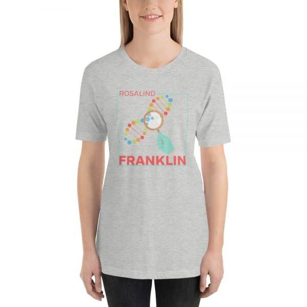 unisex staple t shirt athletic heather front 610d83913df79 600x600 - Rosalind Franklin
