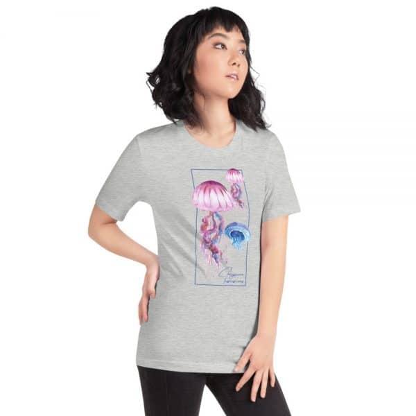 unisex staple t shirt athletic heather right front 610d7a6cc0da1 600x600 - Jellyfish