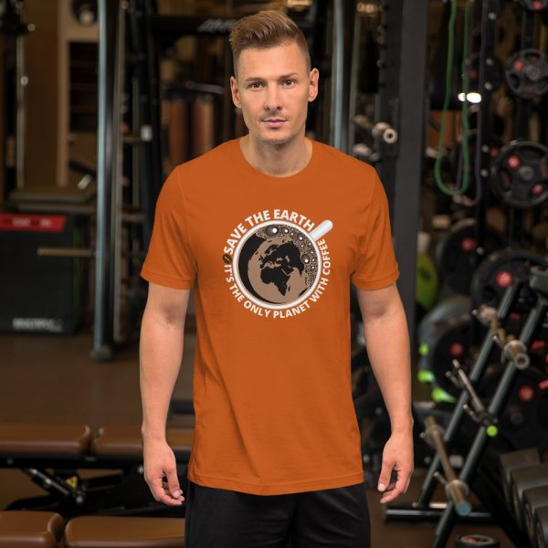 unisex staple t shirt autumn front 610d7e28a1266 600x600 - Save The Earth