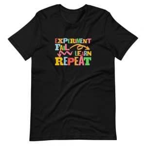 unisex staple t shirt black front 610d6dfc626c0 300x300 - Experiment. Fail. Learn. Repeat,