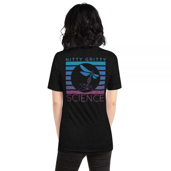 unisex staple t shirt black heather back 610d65b2303cb 600x600 - NGS Circle Logo