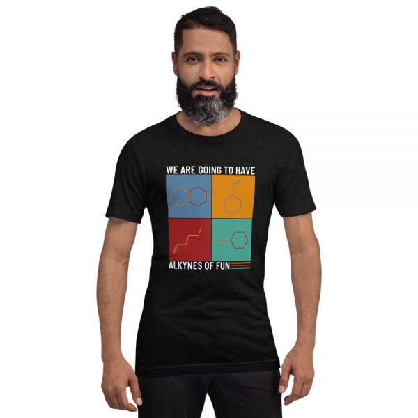 unisex staple t shirt black heather front 610d78c427c62 600x600 - Alkynes of Fun