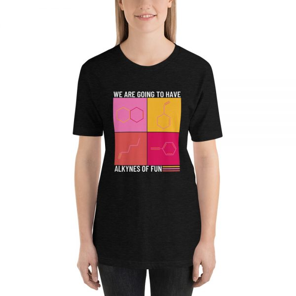 unisex staple t shirt black heather front 610d790ca0894 600x600 - Alkynes of Fun