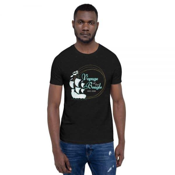 unisex staple t shirt black heather front 610d88427b647 600x600 - Voyage of the Beagle