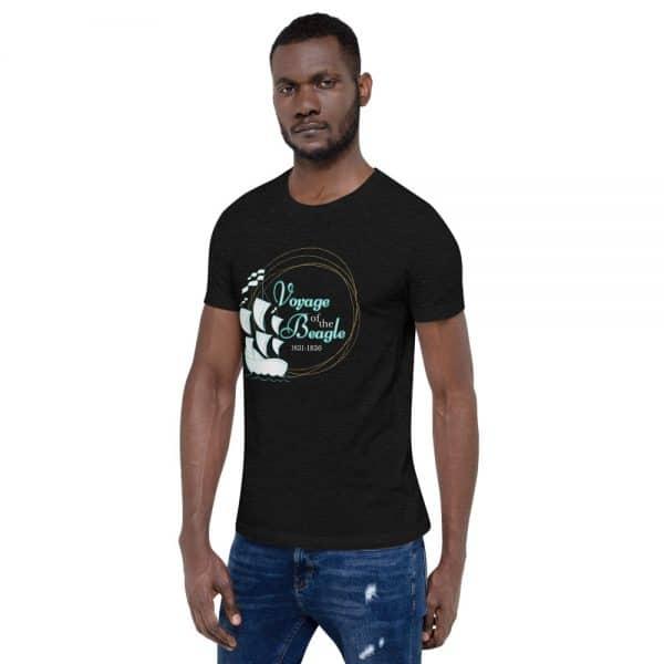 unisex staple t shirt black heather left front 610d88427b8c1 600x600 - Voyage of the Beagle