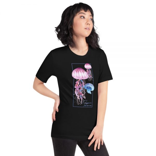 unisex staple t shirt black right front 610d7a6ca01df 600x600 - Jellyfish