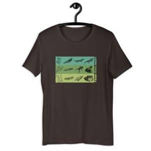 unisex staple t shirt brown front 610d6e64840fb 300x300 - Amphibian Life Cycle
