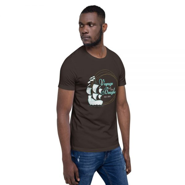 unisex staple t shirt brown right front 610d88427e5e5 600x600 - Voyage of the Beagle