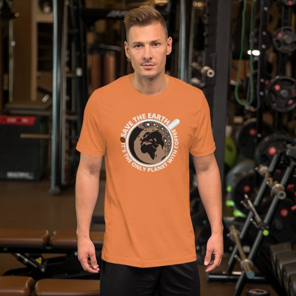 unisex staple t shirt burnt orange front 610d7e28a92cf 600x600 - Save The Earth