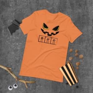 unisex staple t shirt burnt orange front 614396b732fd7 300x300 - BOO