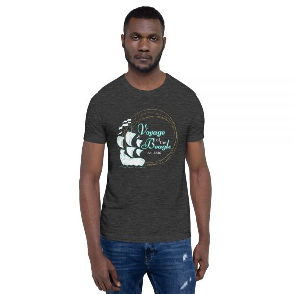 unisex staple t shirt dark grey heather front 610d884280323 600x600 - Voyage of the Beagle