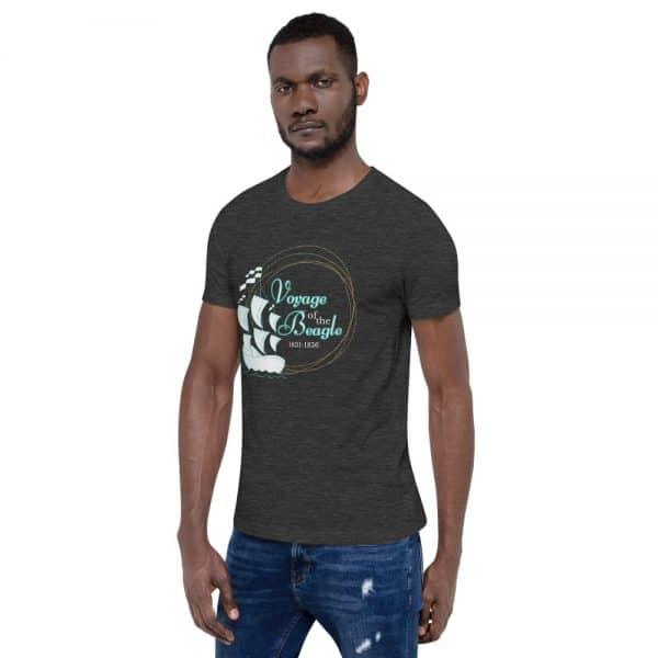 unisex staple t shirt dark grey heather left front 610d884280f5c 600x600 - Voyage of the Beagle