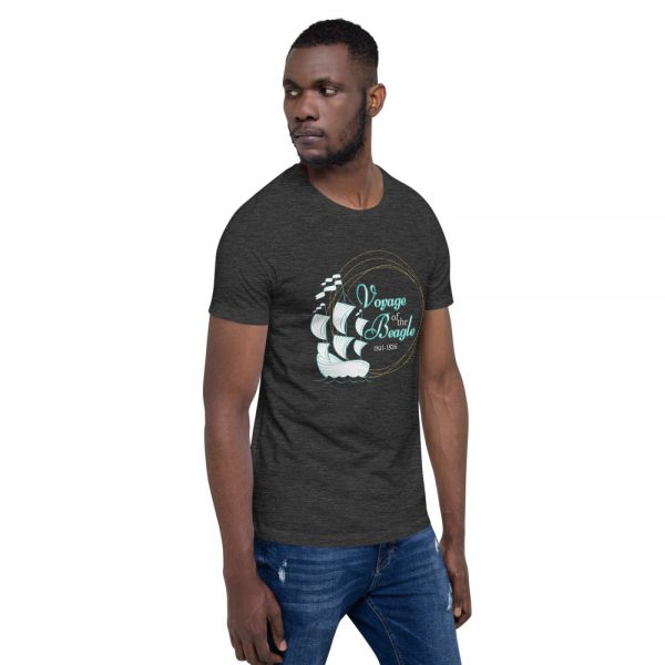 unisex staple t shirt dark grey heather right front 610d884281cc4 600x600 - Voyage of the Beagle